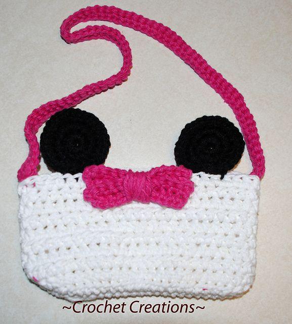 Ravelry: Crochet mini mouse purse free pattern by Amy Lehman ...