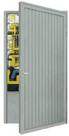 Rugged steel door for outdoor use in our offer! www.fe …