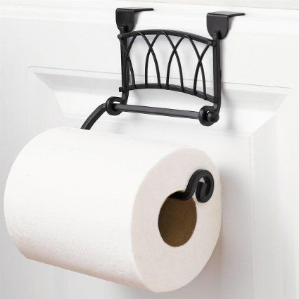 Amazoncom Brylanehome Twist Over The Cabinet Door Toilet Paper