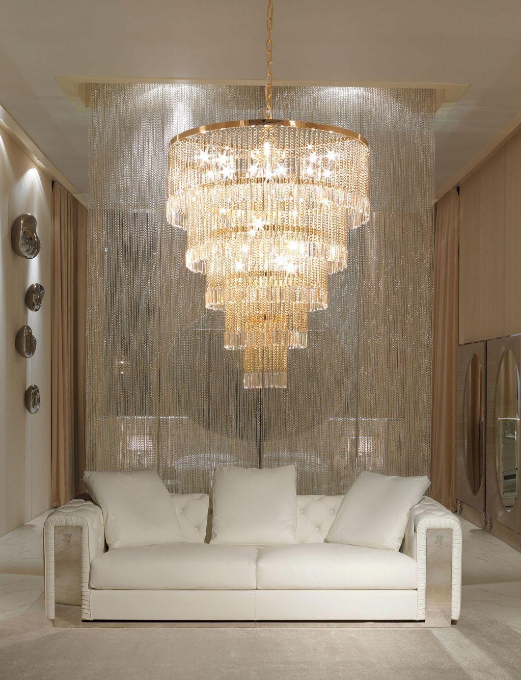Chandeliers The Grand Italian Designer Crystal Crown So Elegant