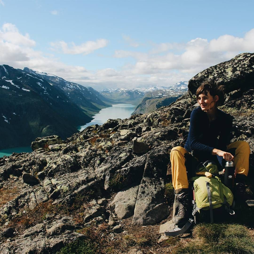 That's how and where we spent it. Scandinavia.