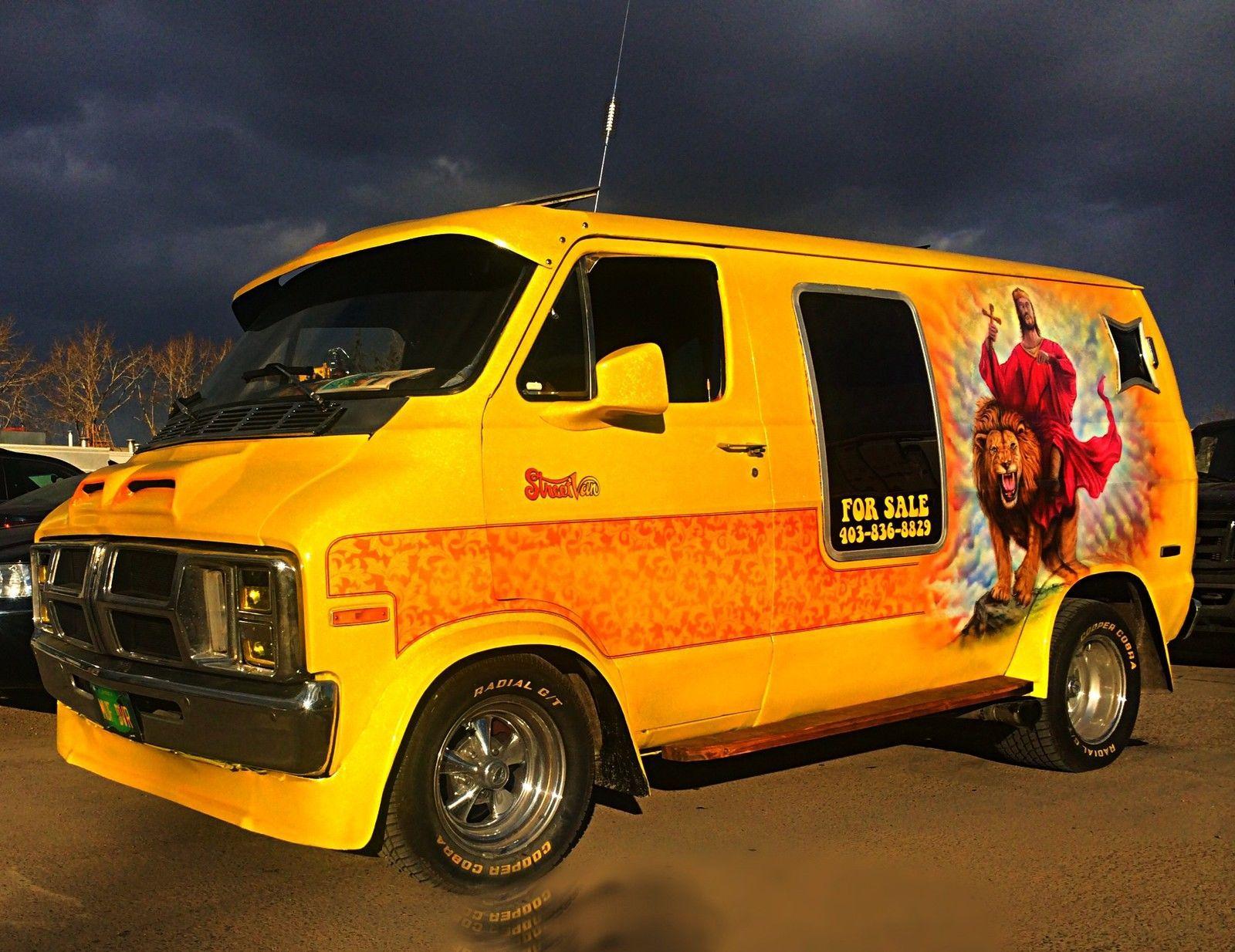 Dodge Ram Van B100 Series Gmc Vans Custom Vans For Sale Vintage Vans