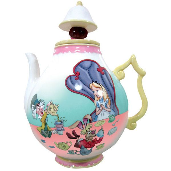 Disney Alice in Wonderland Teapot 35 oz 23705 Collectibles Gifts #Disney