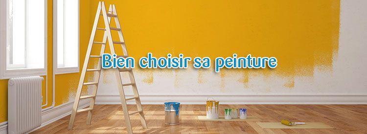 Rénovation  Conseils pour bien choisir sa peinture Les conseils - comment choisir sa peinture