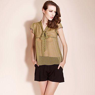 TS Chiffon Flower Print Blouse Shirt – US$ 15.00