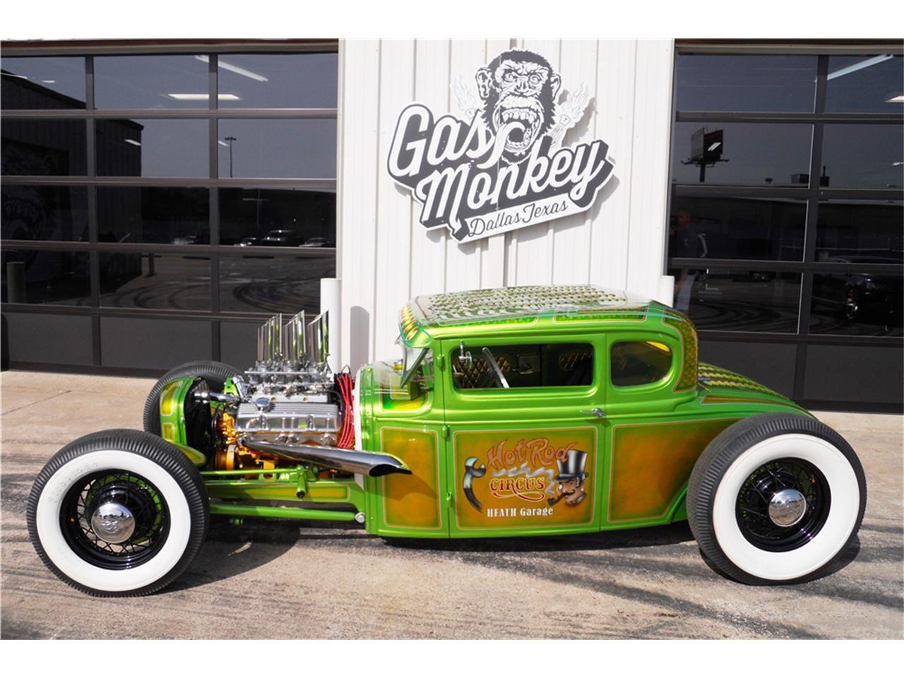 Gas Monkey Garage : Ford model a tudor original barn find by gas monkey garage no