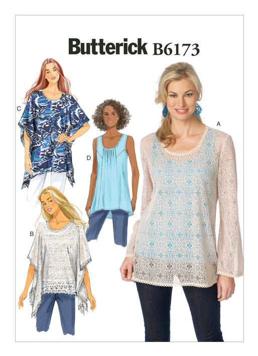 Tops | Page 3 | Butterick Patterns | Pretty tops | Pinterest ...