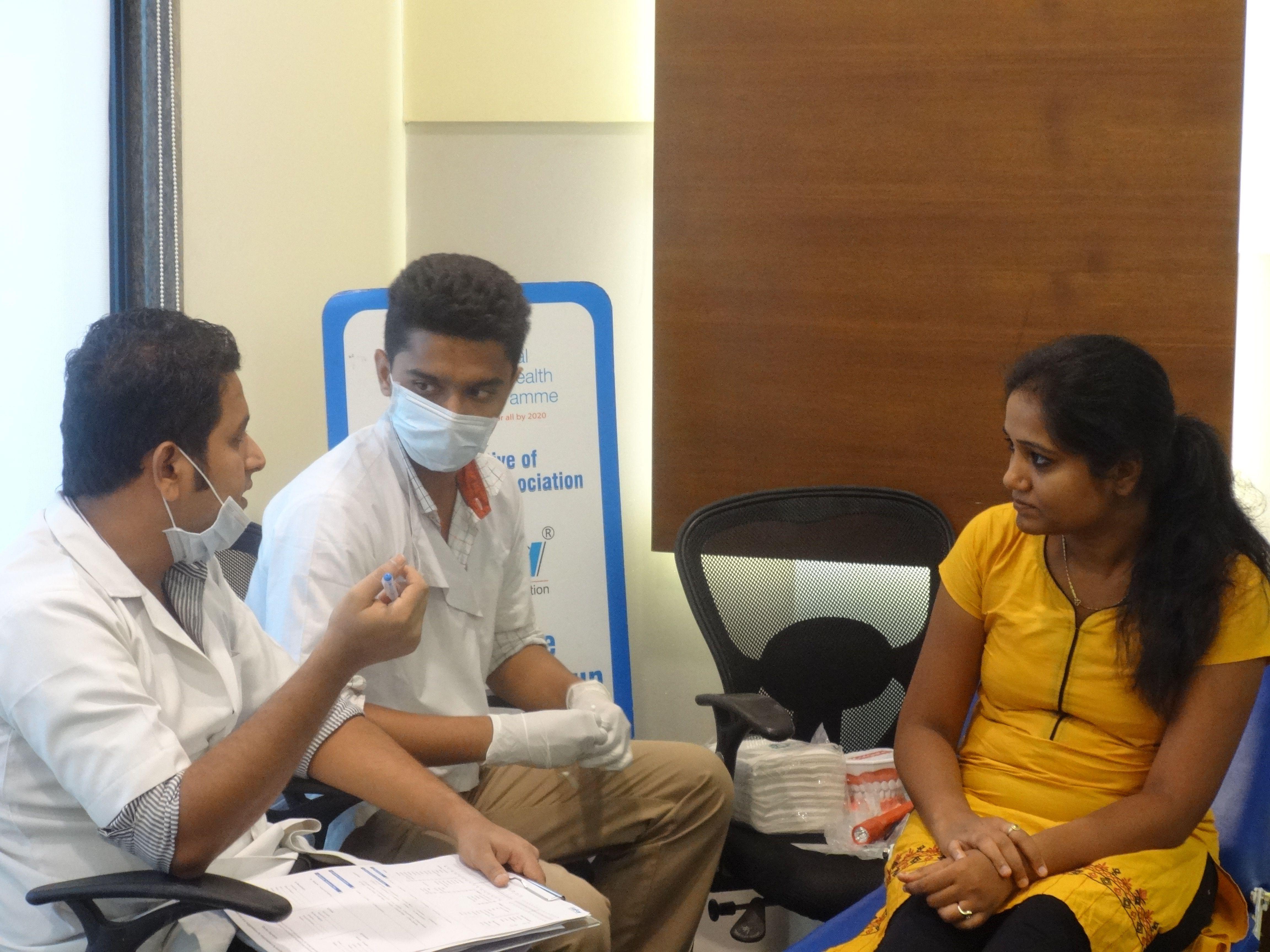 dental # checkup camp at Travel Food Services | NOHP