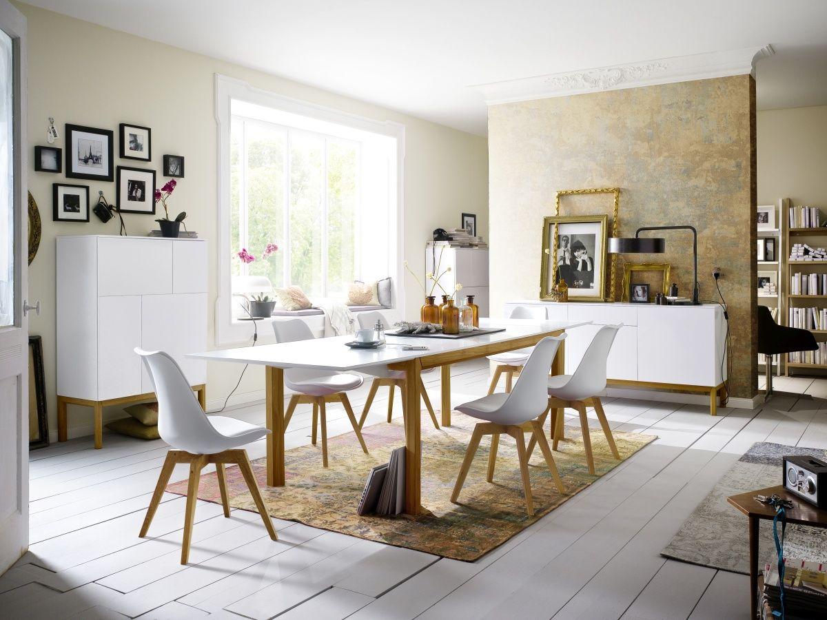 Witte kuipstoelen zijn hip! Deze Scandinavische stoelen van Tenzo ...