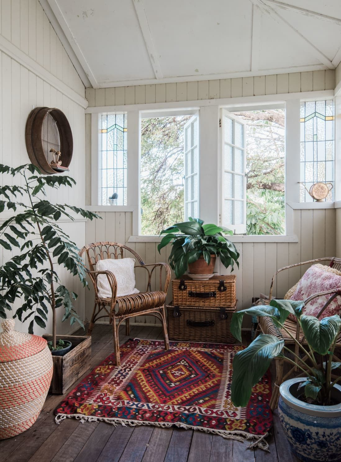 Photo of A Warm, Bohemian Country Style Australian Home