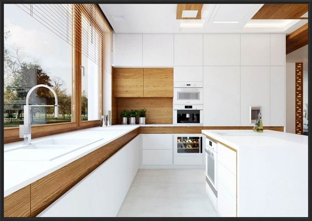 Kche Wei Grau Holz Home Deko Ideen Kuche