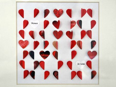 cadres coeur f 234 te des m 232 res it s paper time baby and scrap