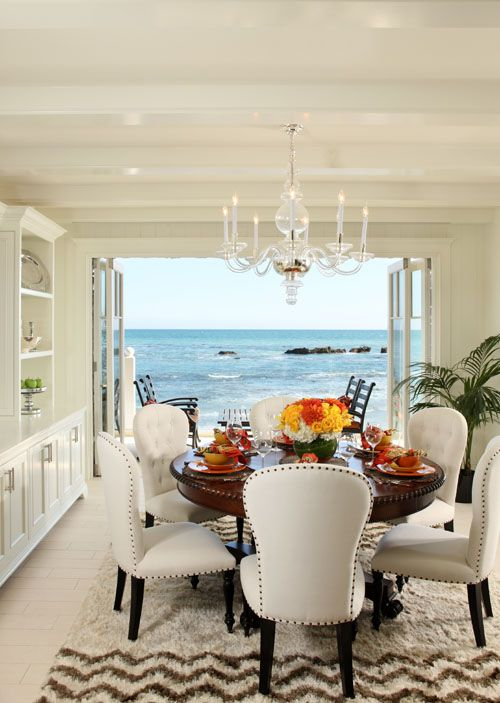 Pin By Stamatia Giasirani On Home Beach Dining Room My Dream