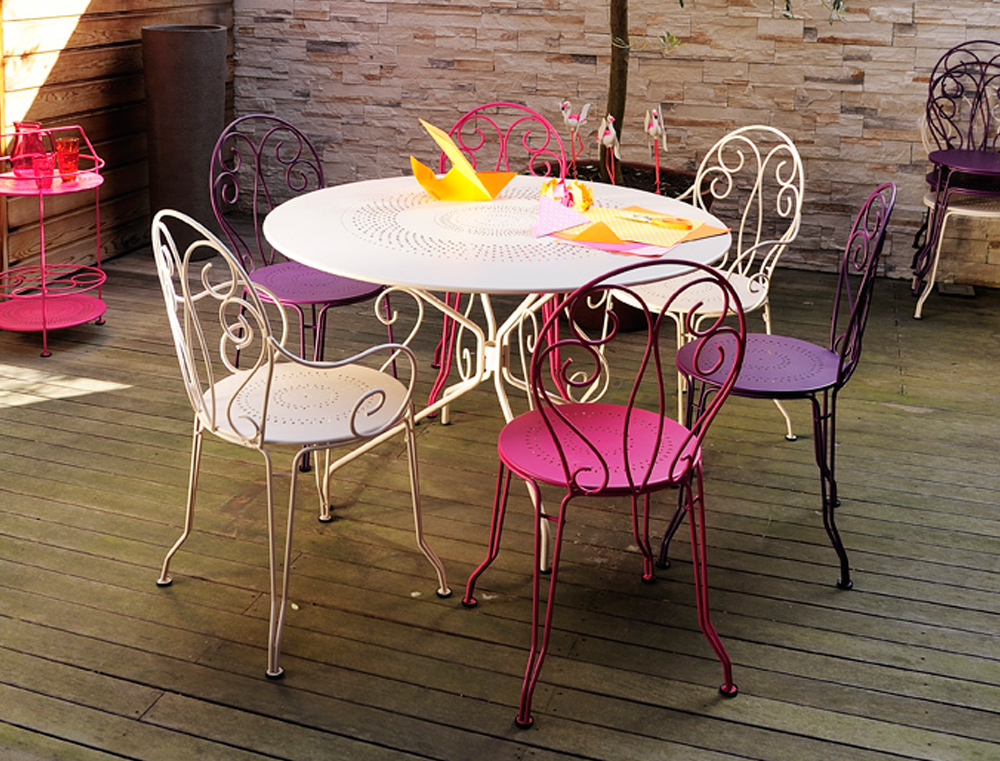 Chaise Montmartre, chaise en métal, mobilier de jardin | Collections ...