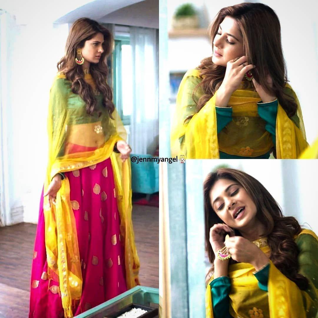 11 Likes 1 Comments Fizzacreations On Instagram Bepannaah Janmashtami Special Cutiepies Coup Beautiful Indian Actress Jennifer Winget Jennifer Dress