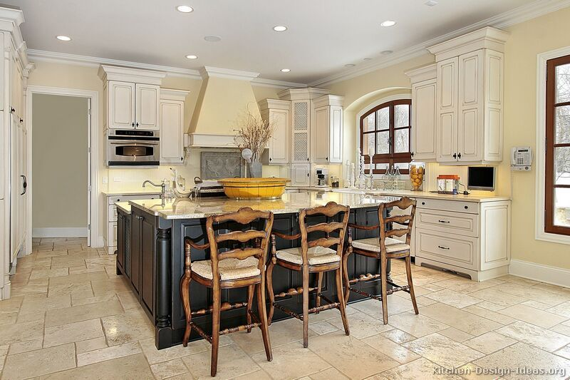 Off White Kitchen Cabinets  Kitchens  Traditional  Off Unique Design Ideas For Kitchen Cabinets Decorating Inspiration