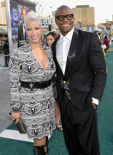 Terry Crews And Rebecca King Crews Photos Photos Draft Day Premieres In La Part 4 Beautiful Gray Hair Grey Hair And Makeup Thin Fine Hair