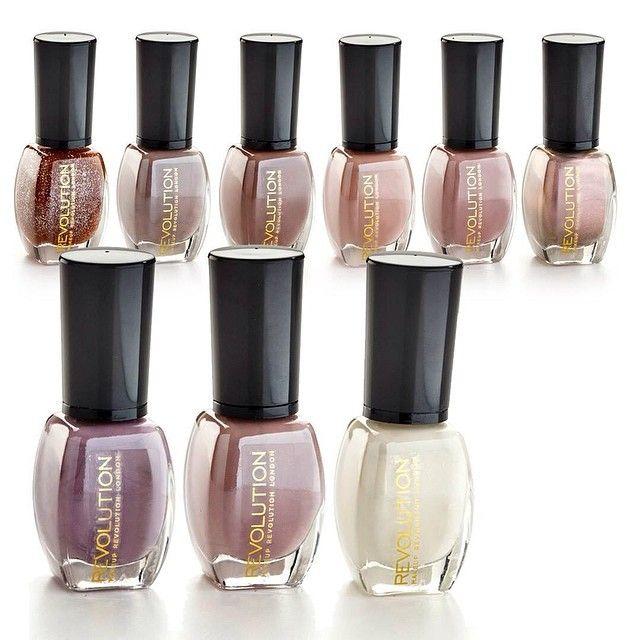 Esmaltes de uñas. Colores nude. Alto brillo y larga duración ...