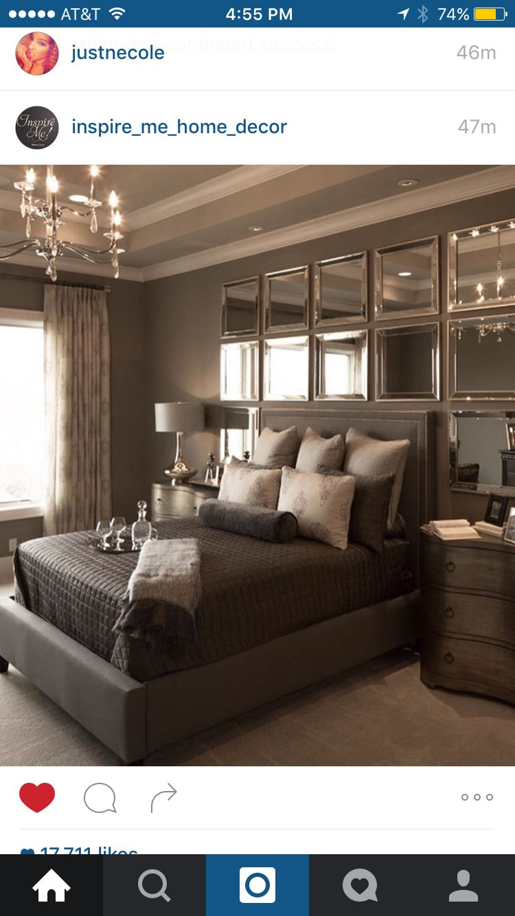 mirrors over bed master bedroom pinterest bedrooms master