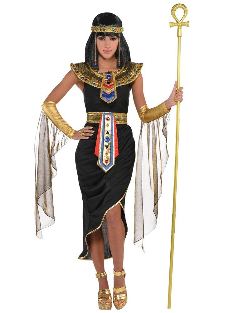 NEW Princess Cleopatra Girls Egyptian Queen Nefertiti Fancy Dress Costume