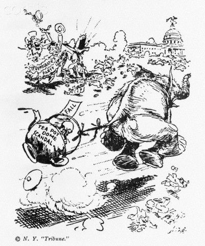 October 25 1929 The Teapot Dome Scandal Comes To A Close When