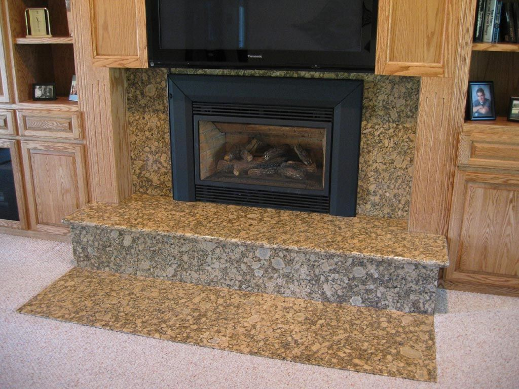 Granite For Fireplace Surround Fireplace Fireplace Surrounds