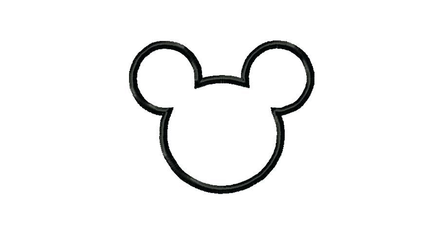 910x480 Mickey Mouse Template Free Mickey Mouse Head Outline Mickey Mouse Mickey Mouse Silhouette Super Coloring Pages Mickey Mouse Template