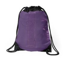 Purple Drawstring Bag by Scar Design #totebag #buytotebag #bag #gifts #buygifts #giftsforher #groceries #shopping #shoppingbag #buybag #buytotebag #cool #coolgifts #accessories #womenaccessories #beachtotebag #beach #beachbag #summer #summergifts #summerbag #skull #gothic #gothicbag