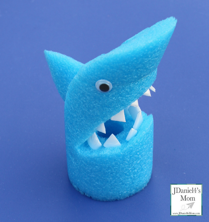 Summer Craft Arts And Crafts For Kids Pool Noodle Shark Fin
