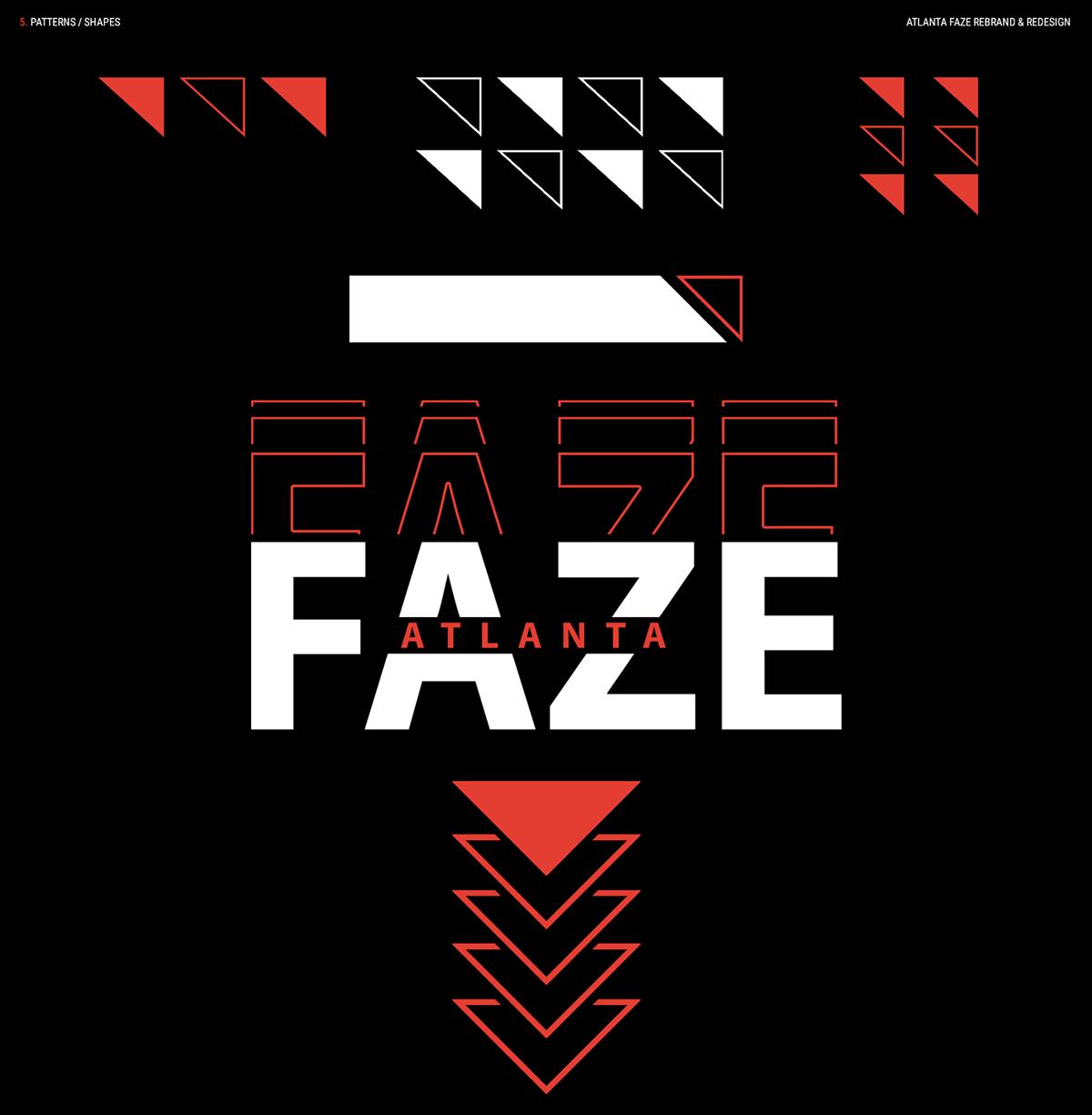 Atlanta Faze Rebrand Redesign On Behance Rebranding Faze Logo Redesign