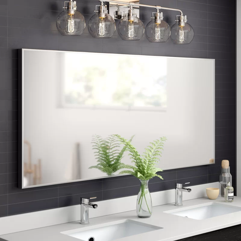 Saterfiel Wall Mirror Reviews Joss, Large Wall Mirrors For Bathroom