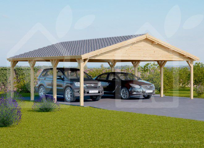 Car Port Wooden 6x6 20x20 Uk Free Shipping Wooden Carports Wooden Garage Carport