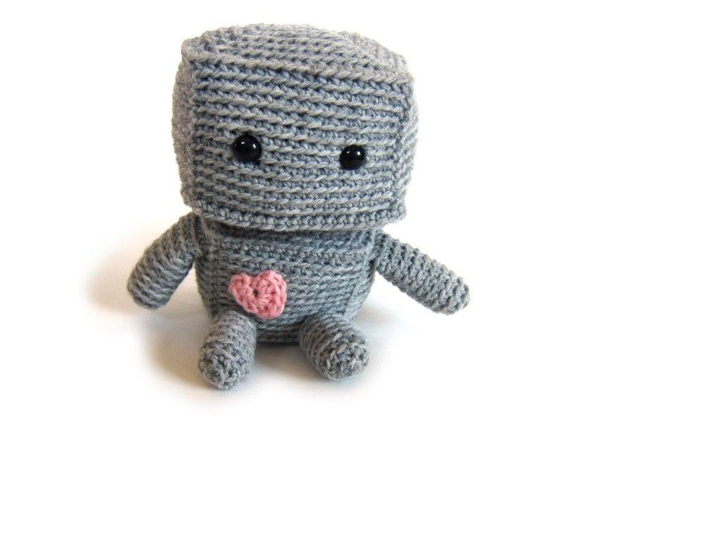 Robot Crochet Pattern | Amigurumi | Crochet patterns, Crochet