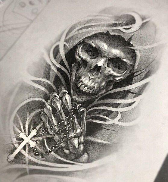 Tatu Eskizy Nizhnij Novgorod Skull Sleeve Tattoos Skull Tattoo Design Tattoo Designs