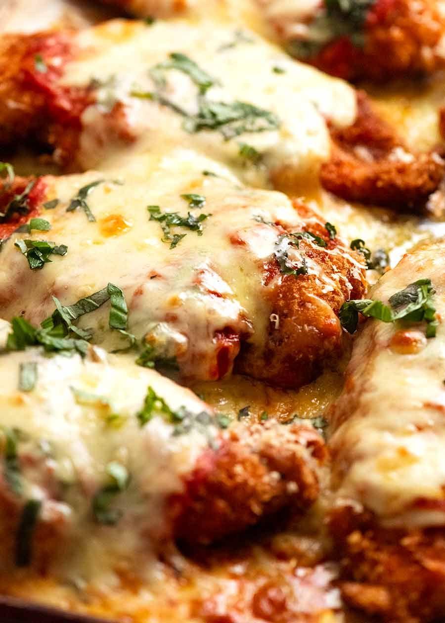 Chicken Parmigiana Recipe In 2020 Chicken Parmigiana Recipetin Eats Recipes