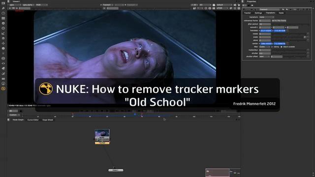 Nuke: Tracker Marker Removal (Old School)   NUKE COMPOSITING