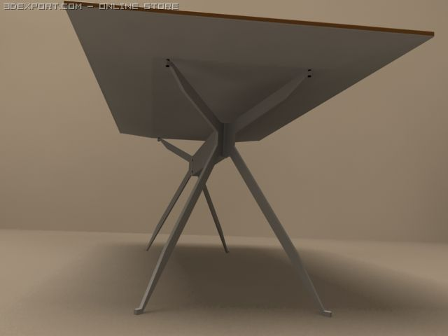 3D Model Jei desk by MolteniC c4d, obj, 3ds, fbx, ma, lwo 17490