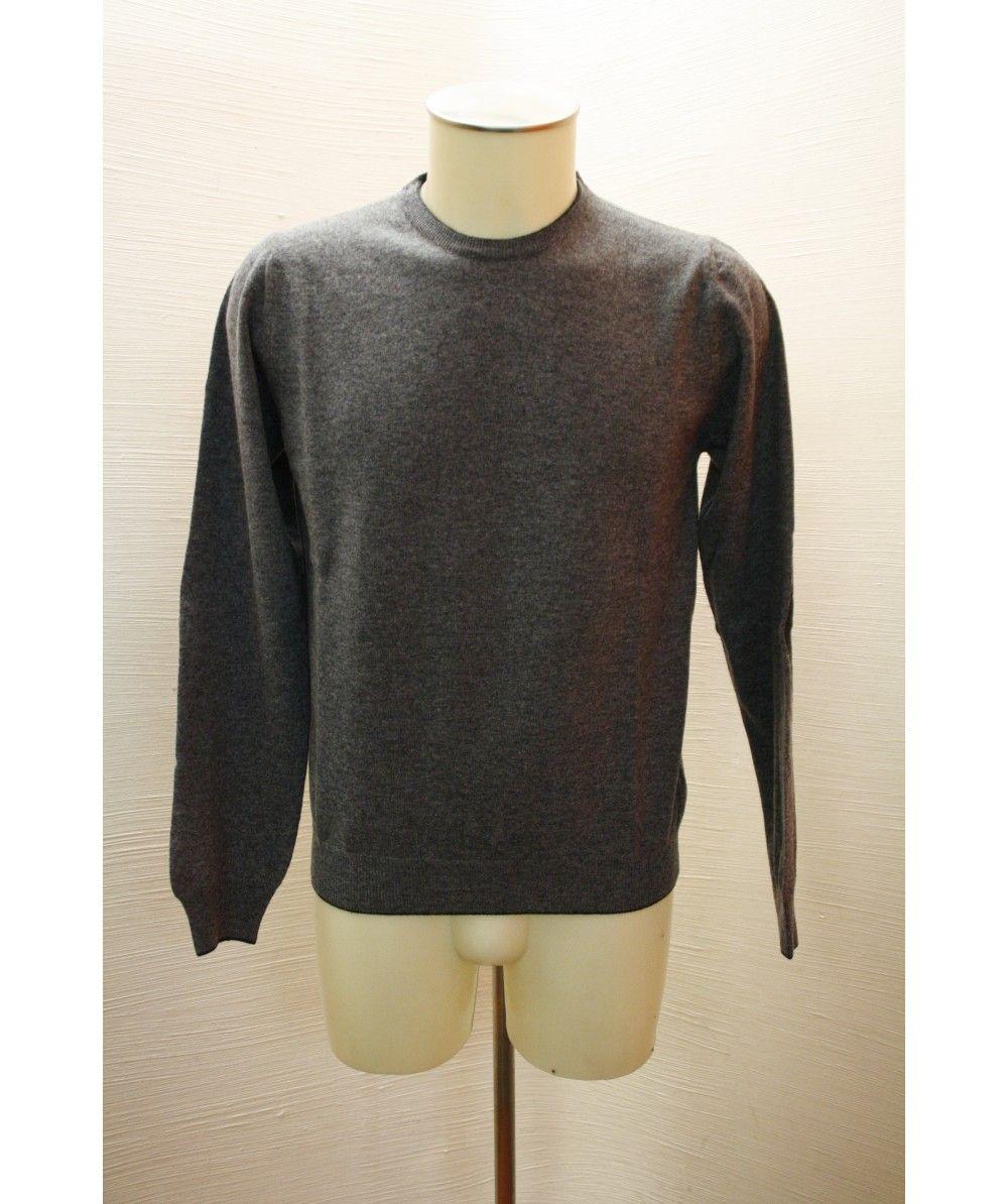 Altea 3200/GRIGIO collezione A/I 2014 maglia uomo colore grigio 100% lana vergine made in italy