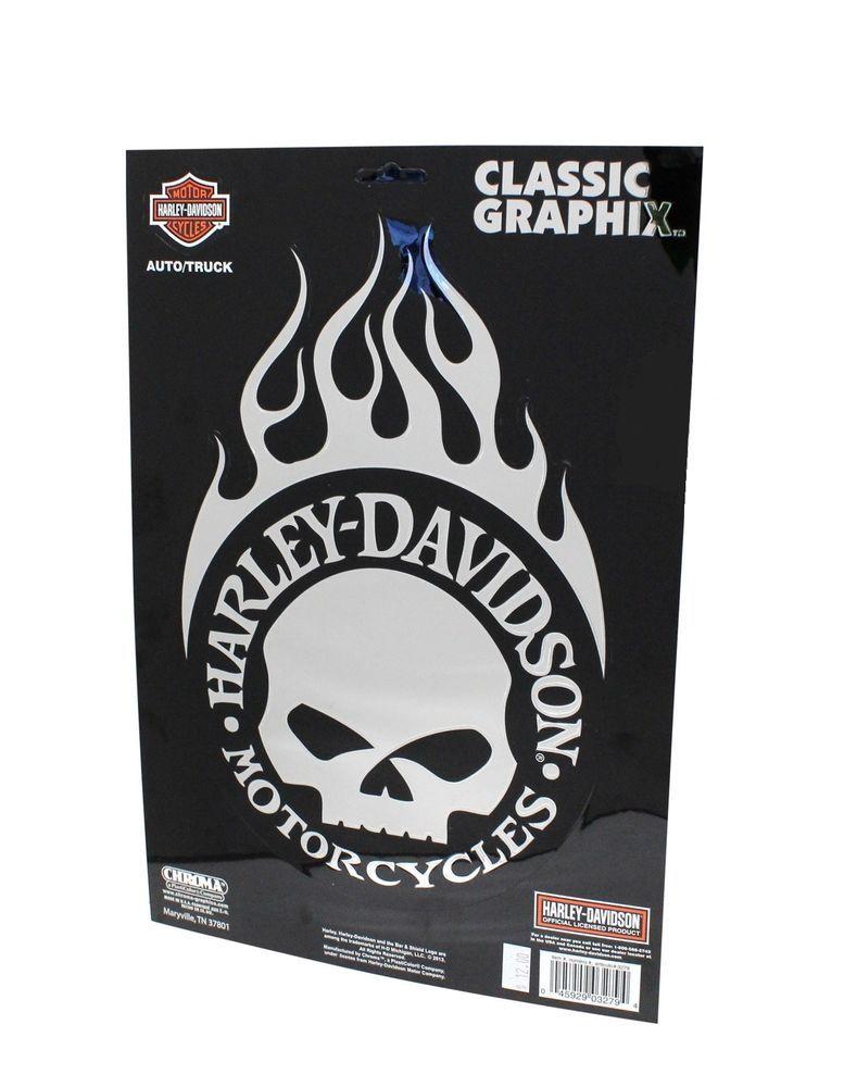 Details About Xl Harley Davidson Motorcycle Willie G Skull
