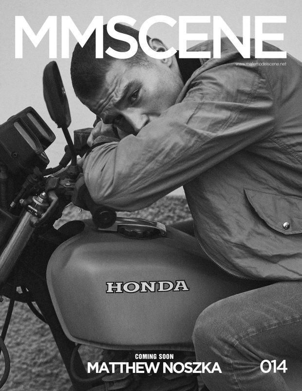 Male Model Scene April 2017 Cover (D'Scene Magazine)