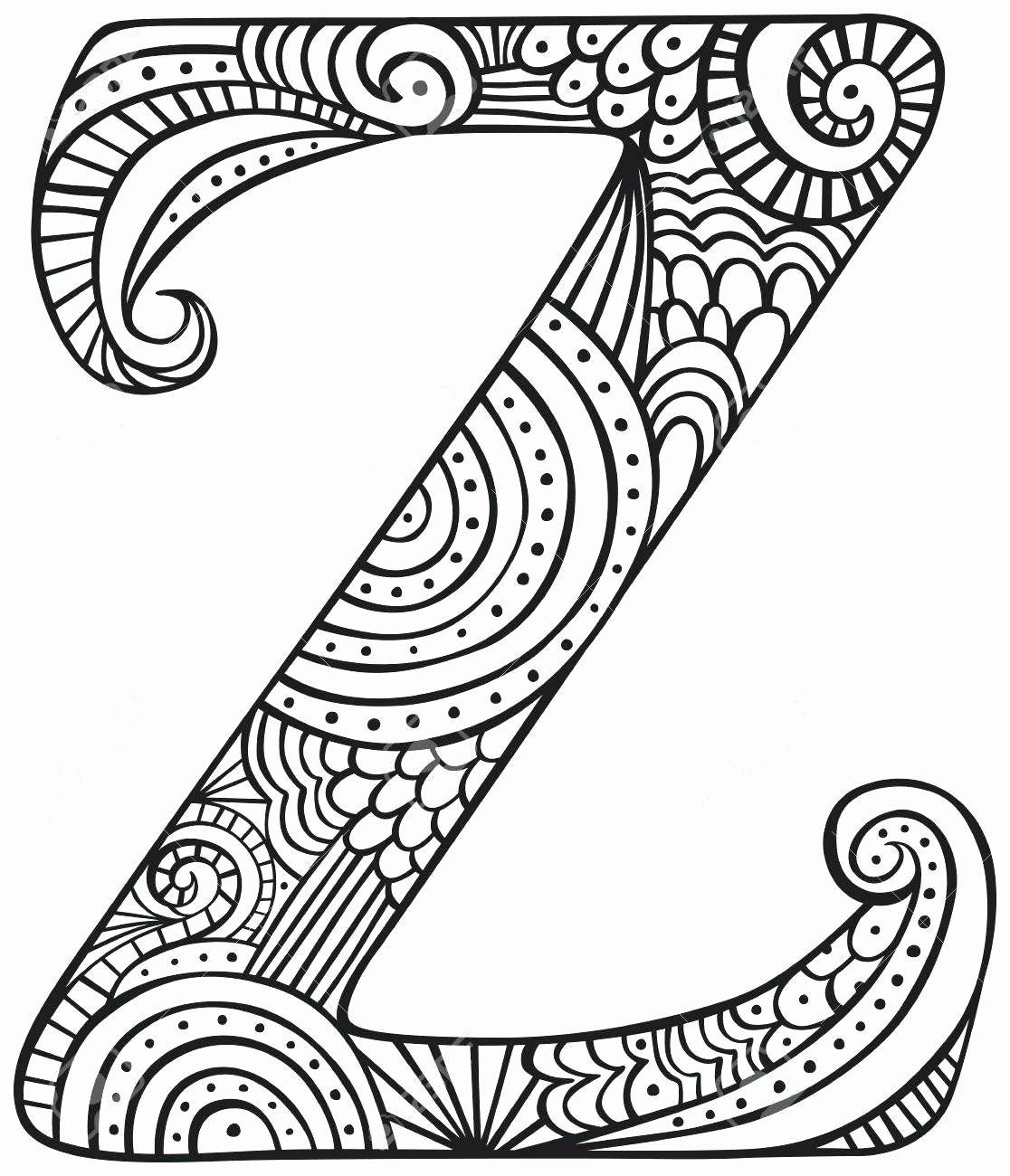 My Coloring Pages Capital Letters Lovely Letter Z Coloring Sheet Codeadventures Coloring Pages Coloring Sheets Colouring Sheets For Adults