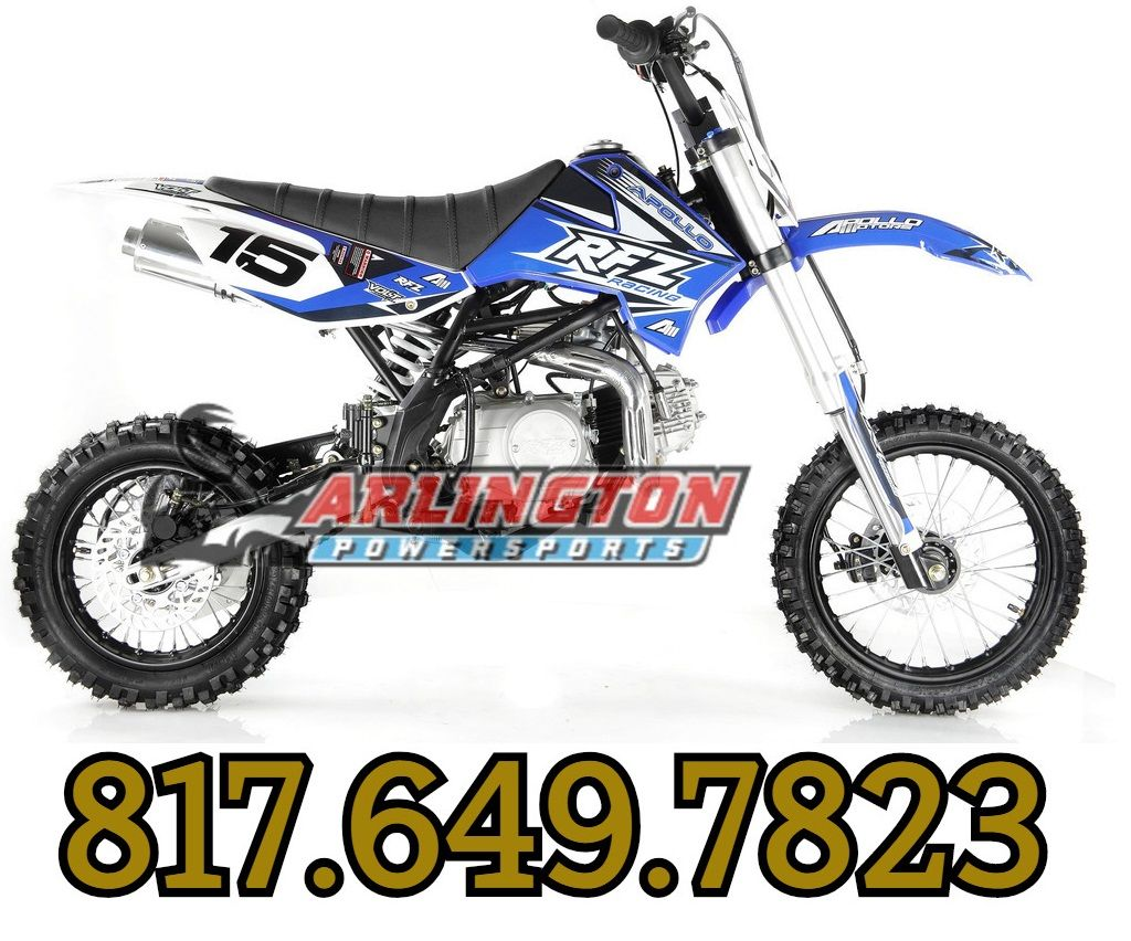 Apollo Db X15 125cc Manual Clutch Dirt Bike 4 Stroke Single