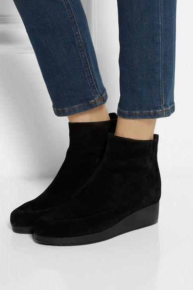 Robert Clergerie Wedge ankle boots JjK9WHO2k