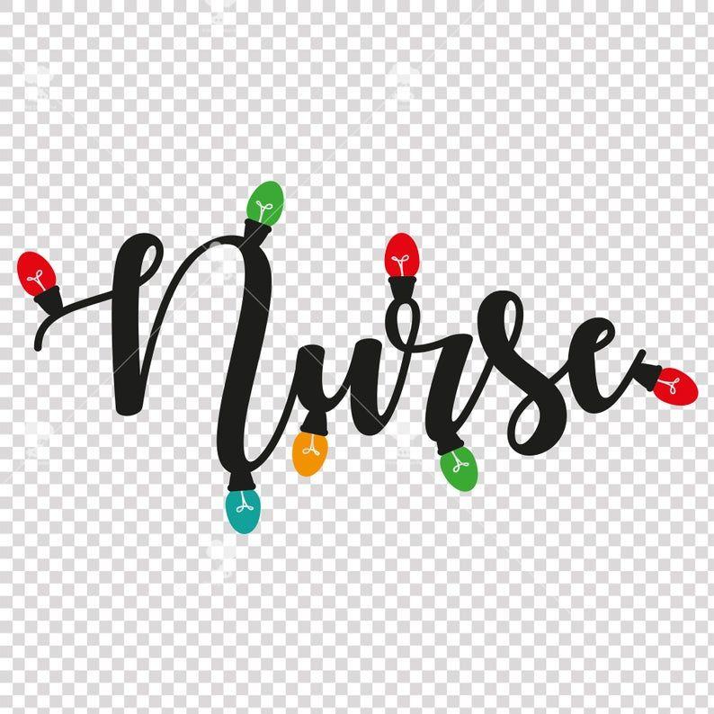 Nurse svg, SVG, EPS, DXF, christmas svg, nursing svg