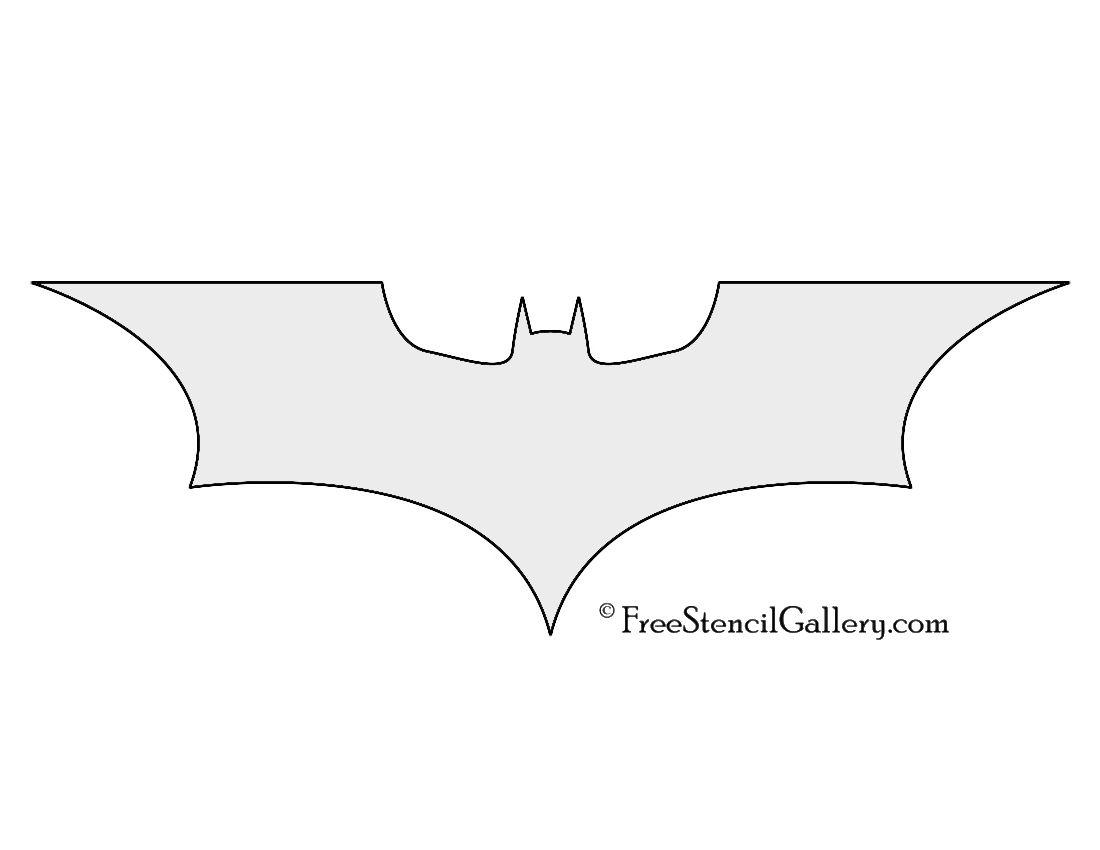 batman symbol stencil comic book hero symbols logos pinterest