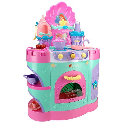 Princess Kitchen Set | Disney Princess Ariel Magical Talking Kitchen Disney Princess