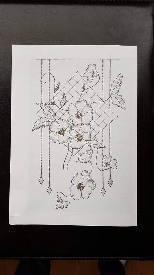 patrons pergamano & modeles   Drawing   Bordado, Tarjetas españolas ...