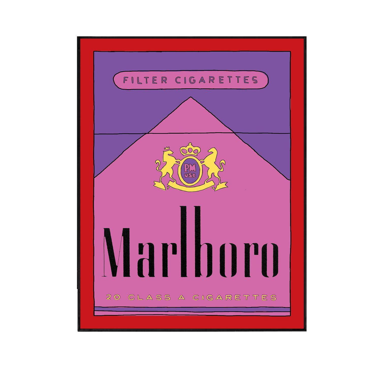 Marlboro Purple   Etsy Finds / Best of Handmade / Artists