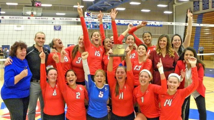 They Did It Again Calvin Knights Women Volleyball Women Calvin College