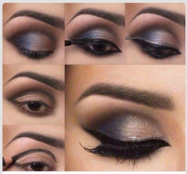 Smokey eyes #tutorial